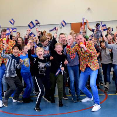 Fotoalbum van Ren je Rot Show met De Dikdakkers | Kindershows.nl