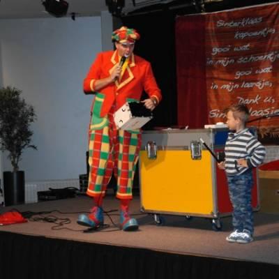 Fotoalbum van Sinterklaaspret met Clown Flap | Sinterklaasshow.nl