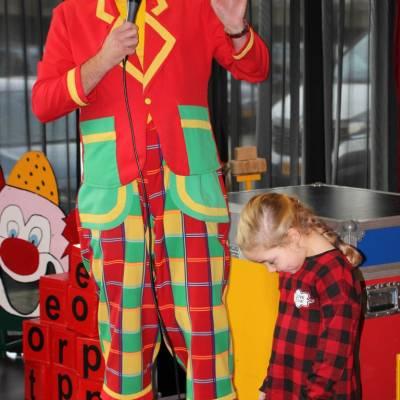 Sinterklaaspret met Clown Flap sinterklaasshow boeken of inhuren