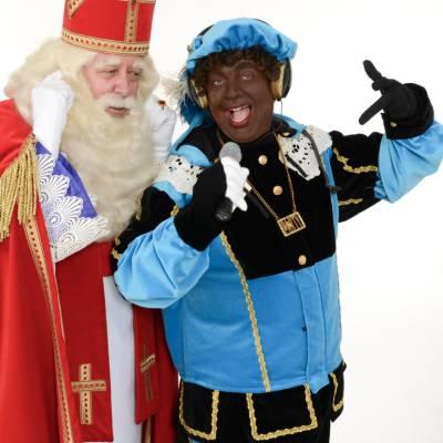 Daar Wordt Aan De Deur Geklopt Sinterklaasshow inzetten