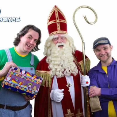 Foto van Max & Thomas - Pakken uit met Sinterklaas | Sinterklaasshow.nl