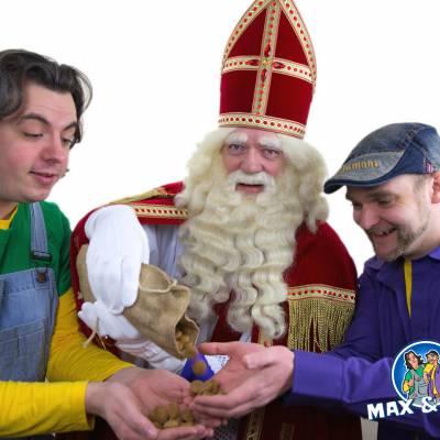Fotoalbum van Max & Thomas - Pakken uit met Sinterklaas | Sinterklaasshow.nl