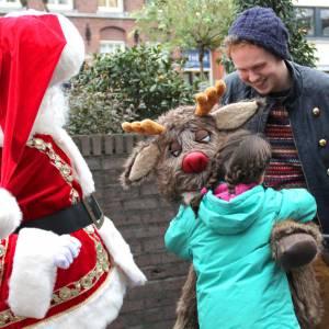 De Kerstman met Rudolph boeken?