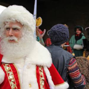 De Kerstman met Rudolph inzetten?