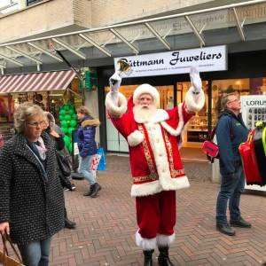 Kerstman met Rudolph boeken?