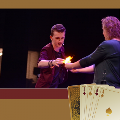 David Nathan Magic Show Boeken?