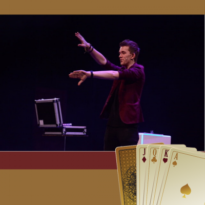 David Nathan Magic Show Ilusieshow inhuren