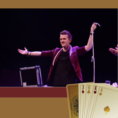David Nathan Magic Show Magie Goochelaar