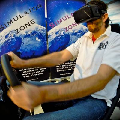 Foto van Virtual Reality Race Seat | JB Productions
