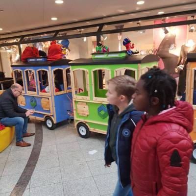 Sinterklaas Kindertrein inzetten of boeken?