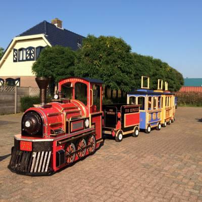Elektrische Kindertrein met Locomotief huren?