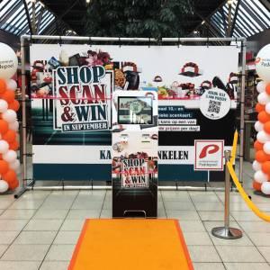 Shop, scan en win in winkelcentrum Paddepoel