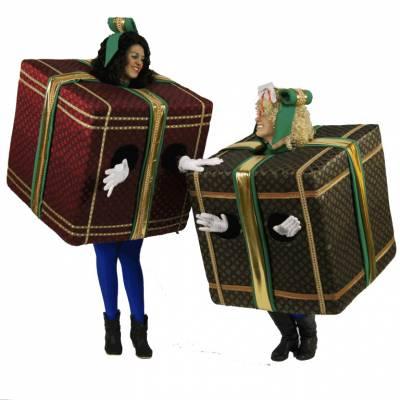 Foto van De Wandelende Cadeaus | Artiestenbureau SintenKerst.nl