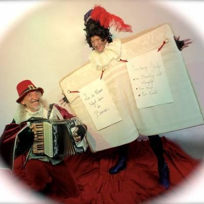 Wandelend Sinterklaasboek met Muzikale Piet inhuren of inzetten?