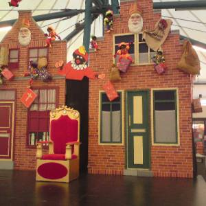 Sinterklaas Podiumdecoratie inhuren?