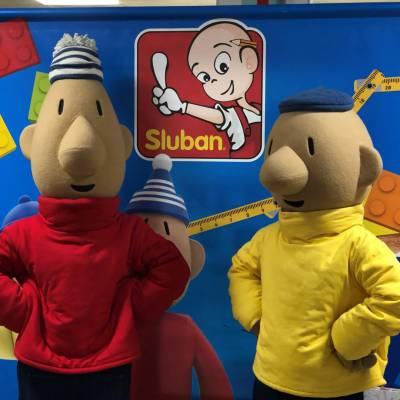 Buurman & Buurman bouwen met Sluban boeken of huren