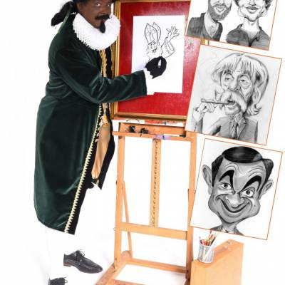 Karikatuurtekenaar - Piet Picasso boeken?