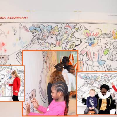 Mega Kleurplaat met Piet Picasso inhuren