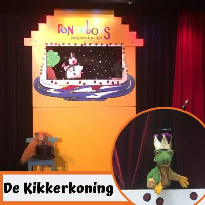 Foto van Poppentheater Ronzebons - De Kikkerkoning | Kindershows.nl