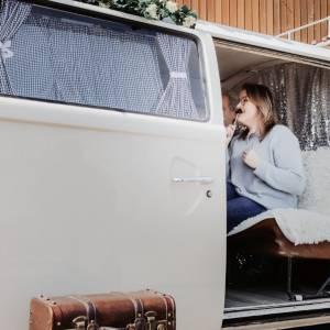 Volkswagenbus Fotoactie boeken of inhuren?