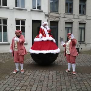 De Wobbeling Kerstman  inzetten?