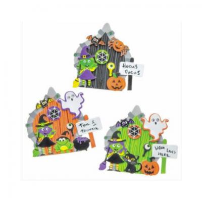Foto van Kids Workshop - Halloween Heksen Deuren Maken | Attractiepret.nl