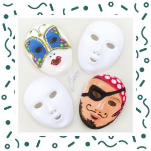 Kids Workshop - Maskers Versieren boeken