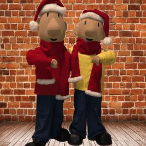 Meet & Greet Buurman en Buurman met Kerst boeken?