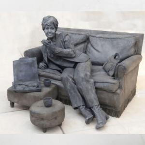 Levend Standbeeld - De Dame op de Bank boeken?