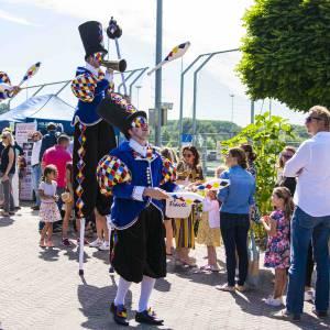Circus Masqué straattheater boeken