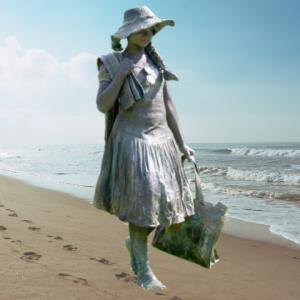 Levend Standbeeld - Naar het Strand boeken?