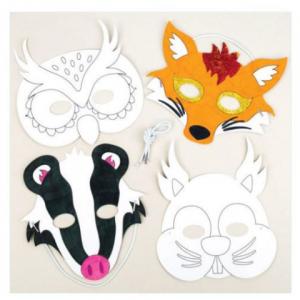 Kids workshop dierenmaskers boeken