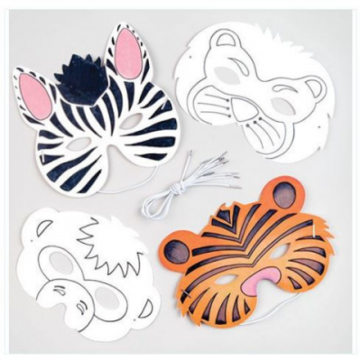 Kids workshop dierenmaskers huren