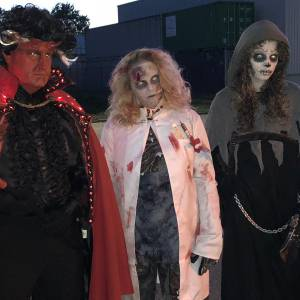 Halloween Acteurs inzetten?