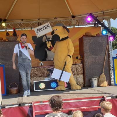 Shake it met Shaun - Minishow inhuren?