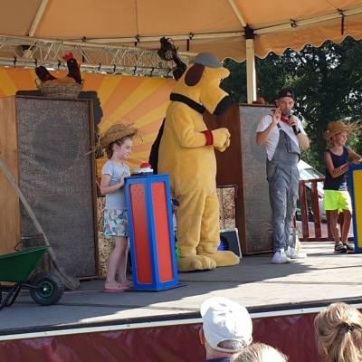 Foto van Shake it met Shaun - Minishow | Kindershows.nl