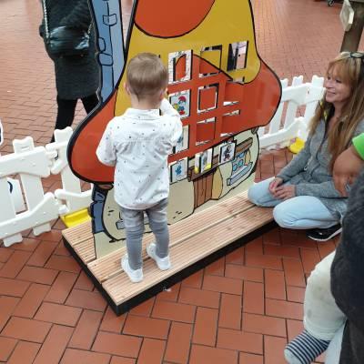 Foto van Het Smurfendorp op locatie - Smurfen Event | Attractiepret.nl