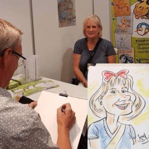 Karikaturist Jon boeken