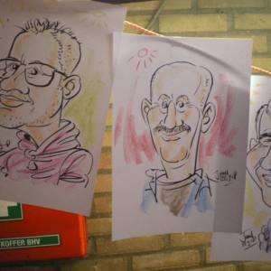 Voorbeelden karikaturen John