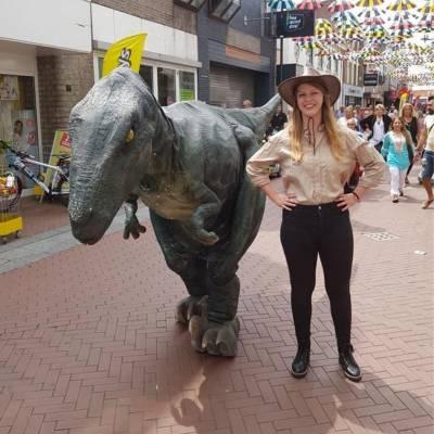 Meet & Greet Velociraptor inhuren voor jouw event