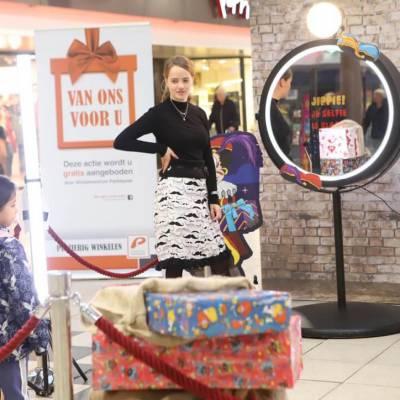 augmented reality ervaring met Sinterklaas
