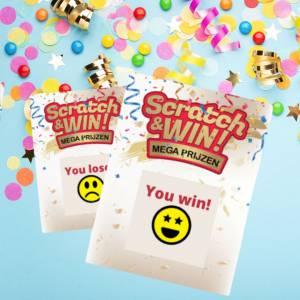 Boek de consumentenactie Scratch & Win voor jouw winkelcentrum