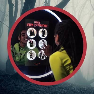 Boek de Halloween Selfie Spiegel voor jouw Halloweenfeest