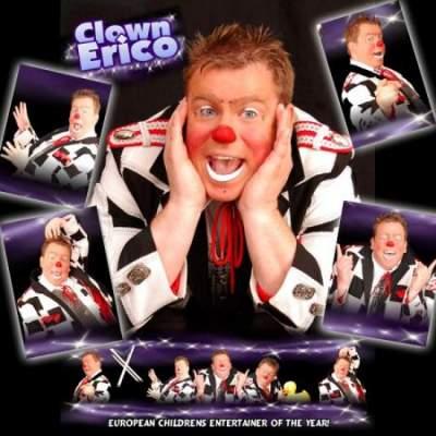 Clown Ericos Doldwaze Show boeken of inhuren?
