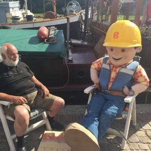Bob de Bouwer op bezoek