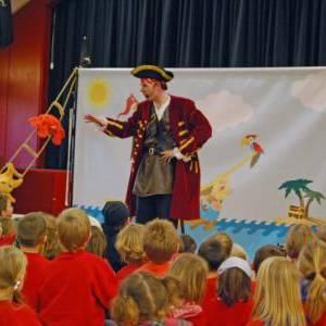 Sjaak de Piraat Kindershow boeken?