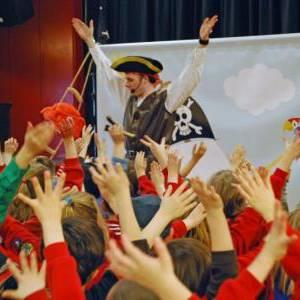 Sjaak de Piraat Kindershow boeken of inhuren?