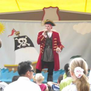Kindershow Sjaak de Piraat boeken?