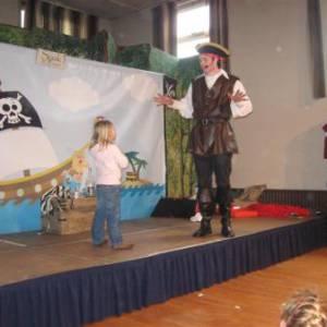 Kindershow Sjaak de Piraat inhuren?