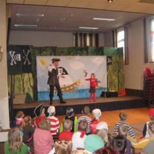 Kindershow Sjaak de Piraat inzetten?